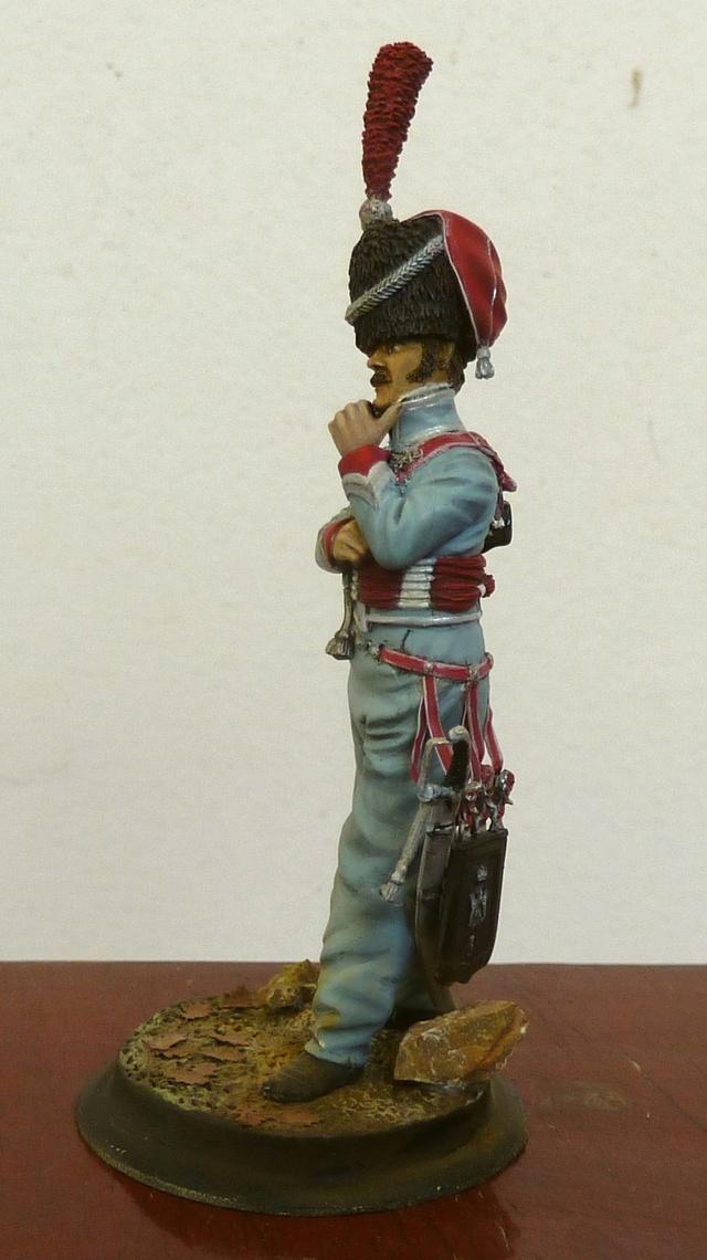 Lieutenant 3RH en Espagne Hussar14