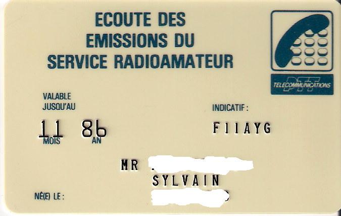 Ma carte d'écouteur F11ayg13