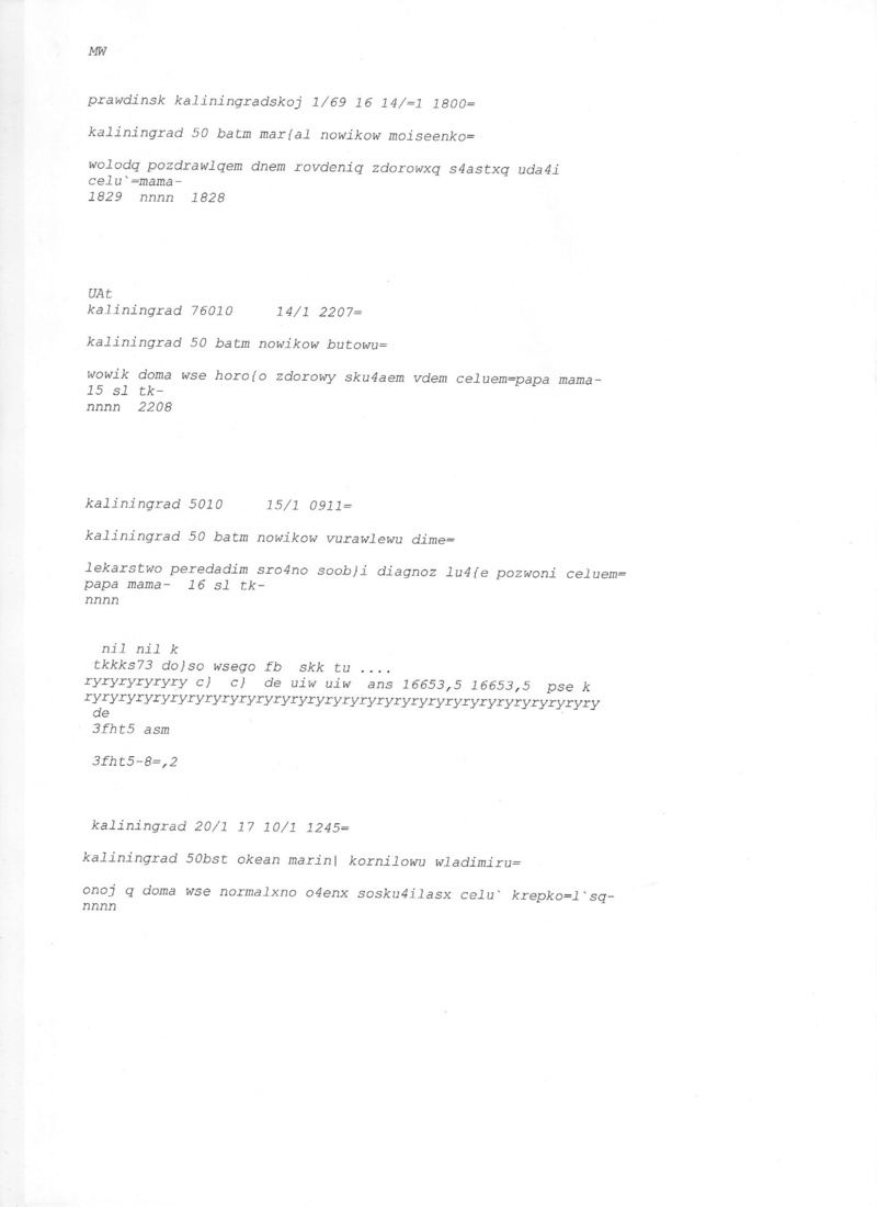 Archives radiotelex Kalini10