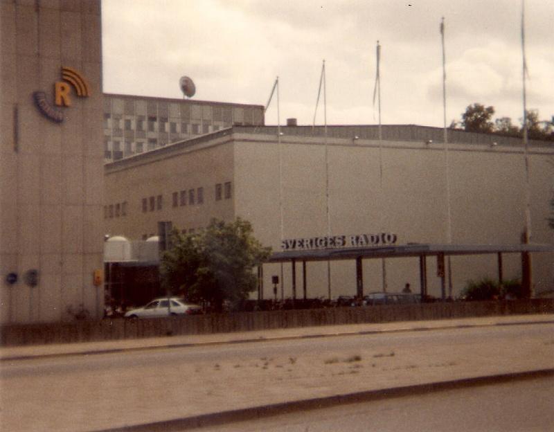 Visite à Radio Sweden Inter août 1991 R_swed11