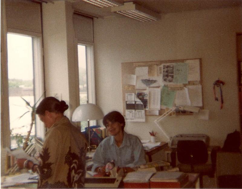 Visite à Radio Sweden Inter août 1991 R_swed13
