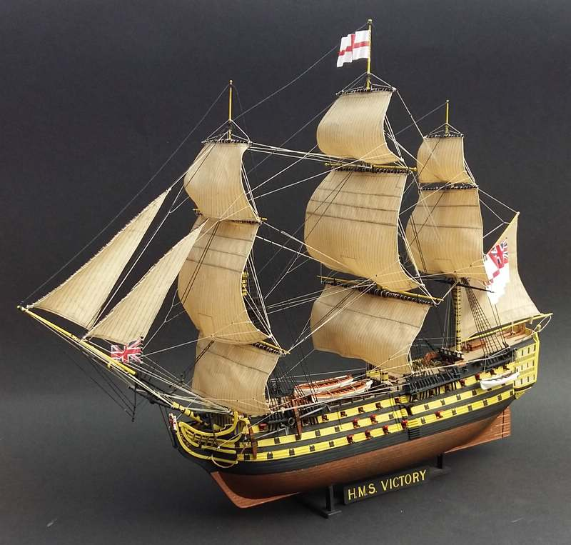 H.M.S. Victory Revell 1/225 Comp_175