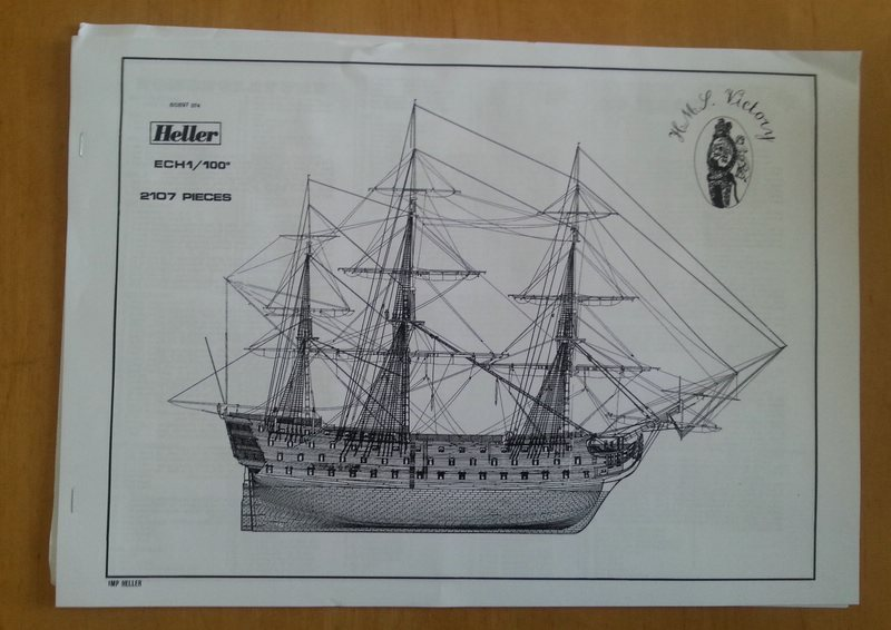 H.M.S. Victory 1/100 Heller Comp_297