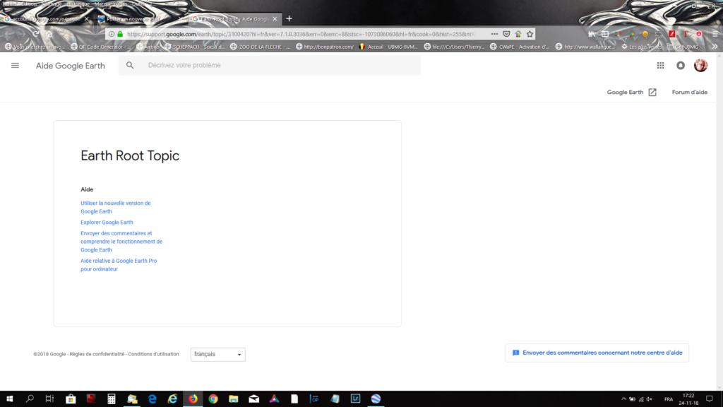[résolu] Connexion à Google Earth (serveur d'authentification injoignable) Captur12