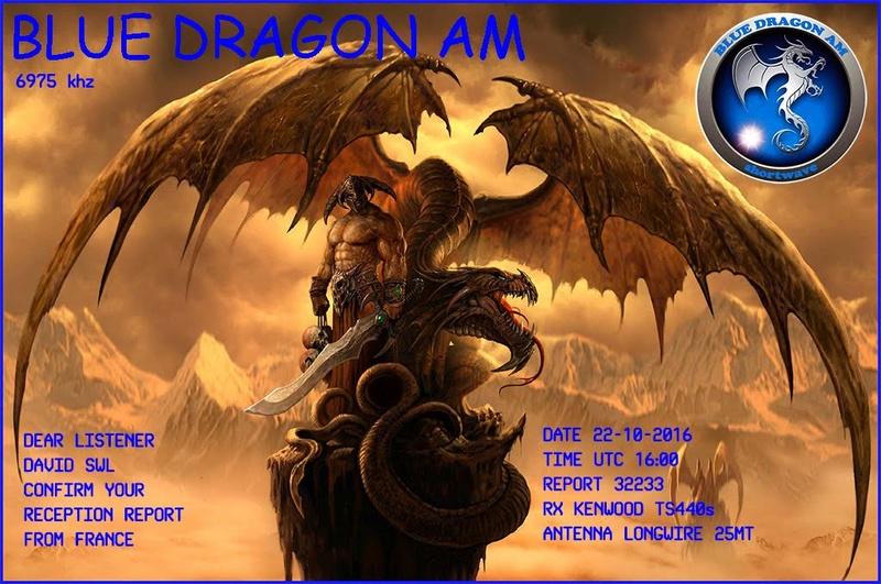 eQSL de Blue Dragon Radio 22-10-10