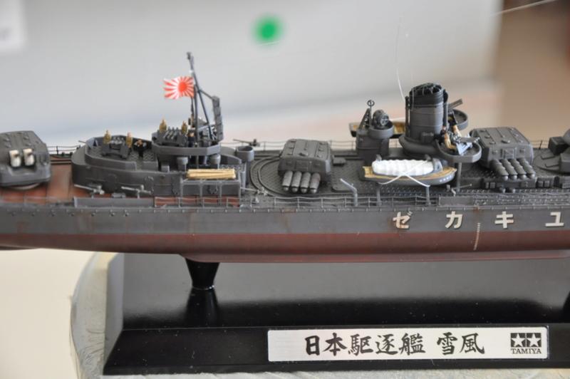 Destroyer Yukikaze Tamiya 1/350 + photodécoupe Aber. - Page 4 Dsc_0110