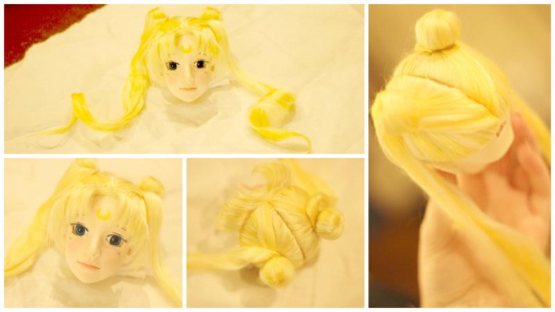 [ So doll ] - Wig méchée verte ! - Sailor10