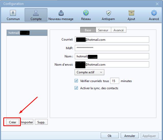 Installation de Foxmail 7.2.7 Screen21
