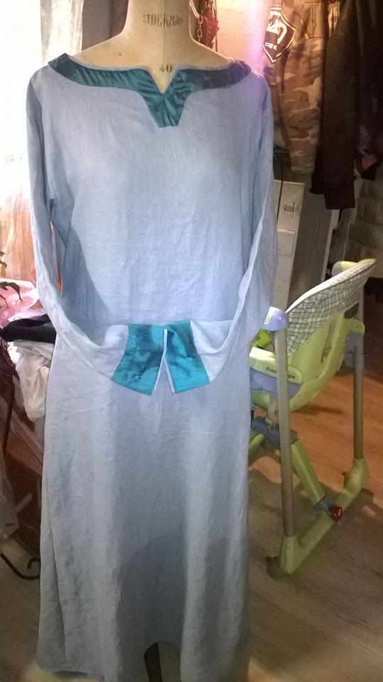 robe et sous robe femme viking : patrons et explications 11120510