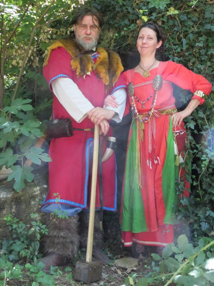 robe et sous robe femme viking : patrons et explications 11813310