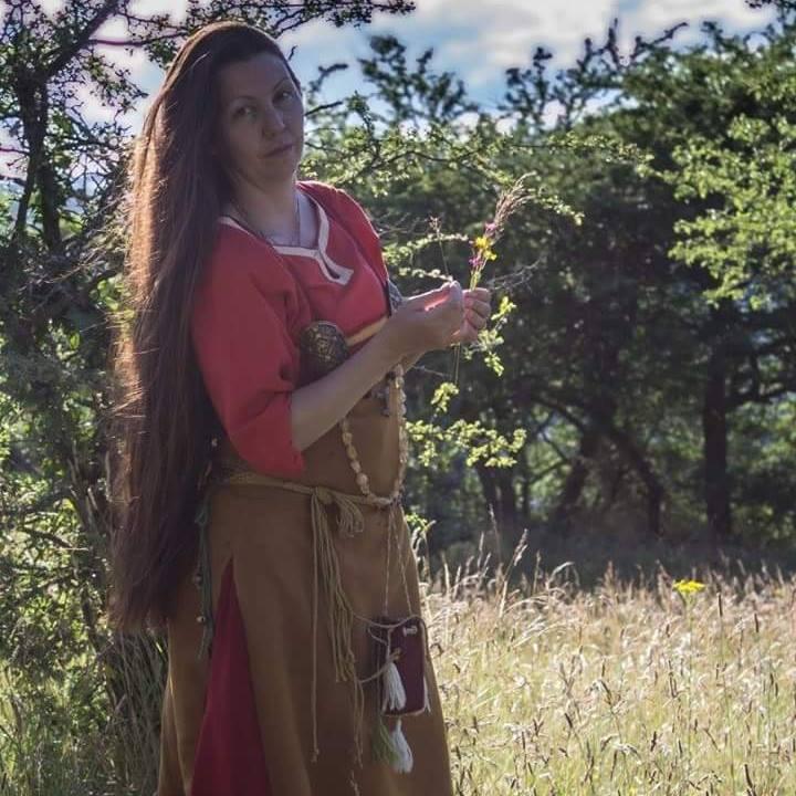 robe et sous robe femme viking : patrons et explications 13592310