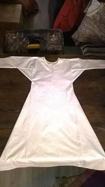 robe et sous robe femme viking : patrons et explications 15266710