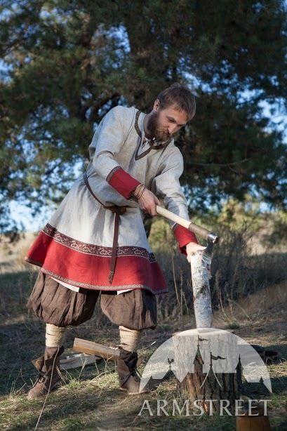patron chemise viking homme  Viking10
