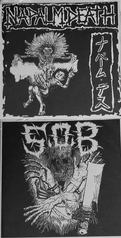 Napalm Death & S.O.B [Split] (1989) Folder14