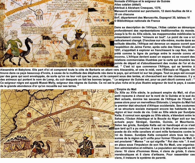 HISTOIRE DE CARTES MYTHIQUES P_afri10