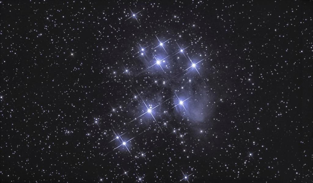 m45 a l apn et la nebu du coeur retoucher  M45-113