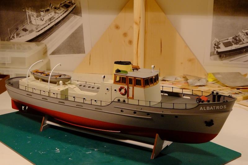 L'Albatros - Douanes néerlandaises - au 1/50 sur plans - Page 3 Cabine11