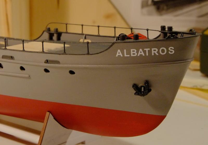 L'Albatros - Douanes néerlandaises - au 1/50 sur plans - Page 2 Rambar11