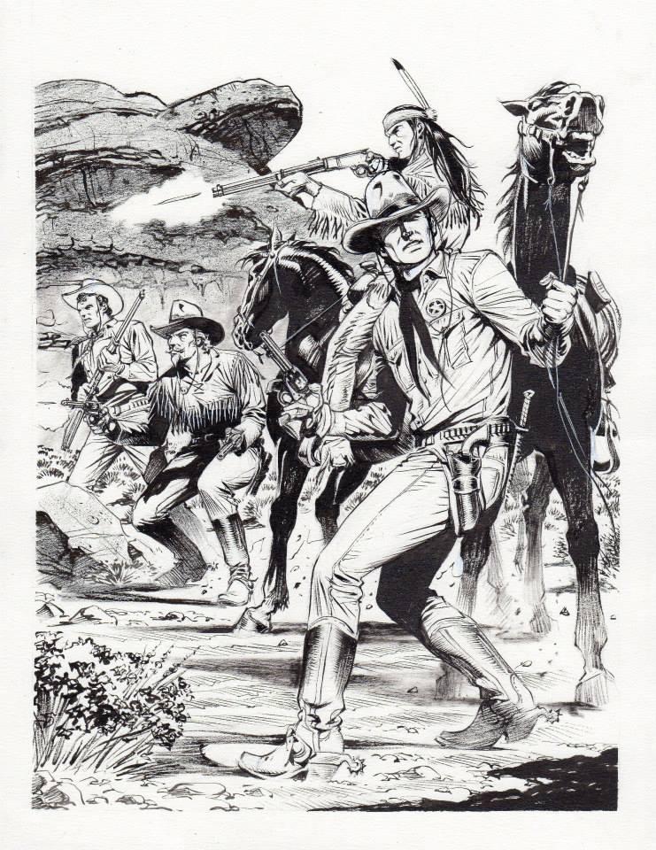 Disegnatori di altre serie che vorrei vedere su Zagor  - Pagina 2 10409410