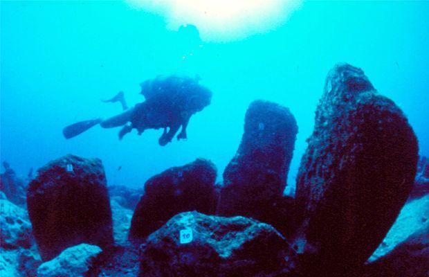 Atlit Yam l'insediamento megalitico sommerso di 10 mila ann Strutt10