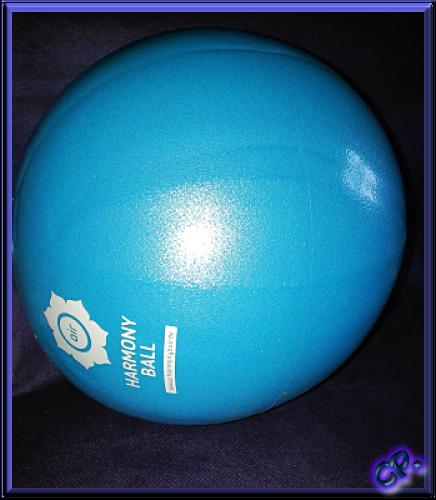 HARMONY BALL air Gymnastikball / Pilatesball / Faszienball Aufgeb10