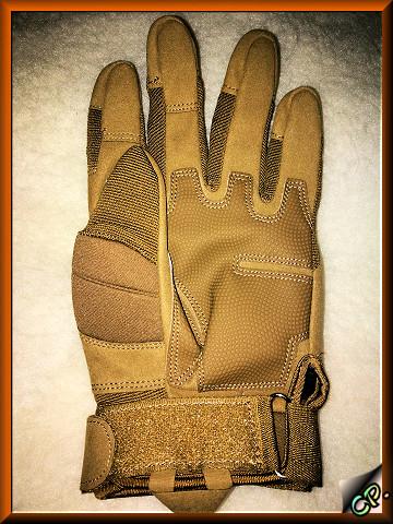 OMGAI Männer Volle Finger Handschuhe Kamel Handin11