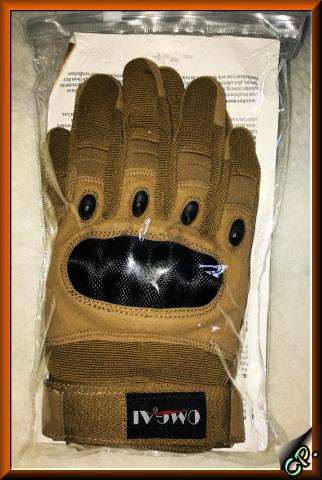 OMGAI Männer Volle Finger Handschuhe Kamel Inderv18