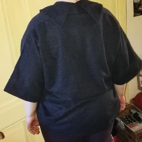 URqueen Jacke in Grau Ryckse34