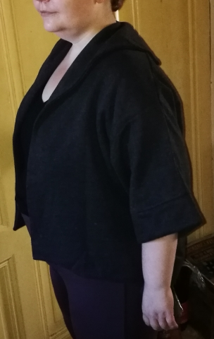 URqueen Jacke in Grau Seitli35
