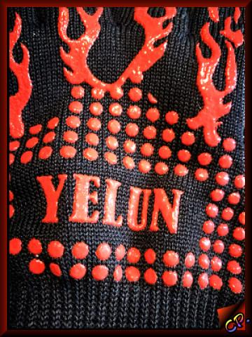 Yelun - Grillhandschuhe Ofenhandschuhe Siliko10