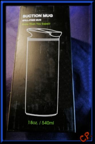 AVOIN colorlife 540ml Reisebecher mit Tee Sieb und Saugnäpfen Verpa125