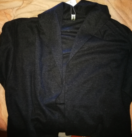URqueen Jacke in Grau Vorder16