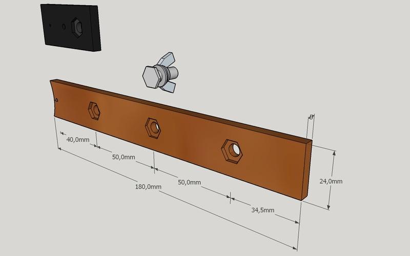 Adaptation guide de défonceuse Triton pour cercles de 1 à 65 cm de diamètre Access11