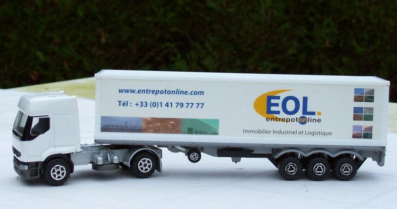"""N°3055 Renault Premium 1x 40"""" Container 126_2315"""