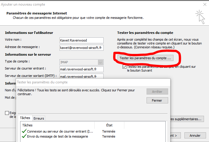 Configuration adresse mail 06_tes10