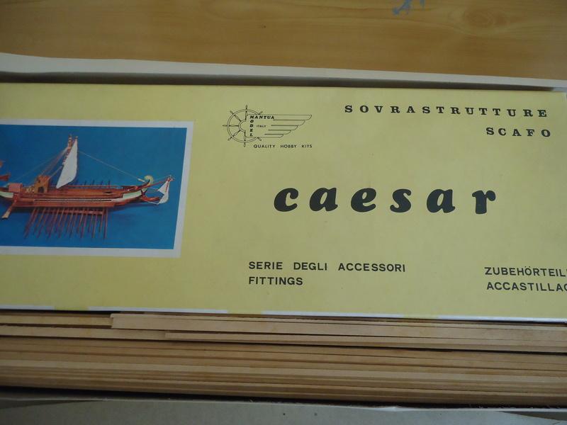 ROMANA - CAESAR - BIREME ROMANA 30 A.C. Mantua   Dsc00411
