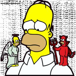 Ange ou démon? Homer-10