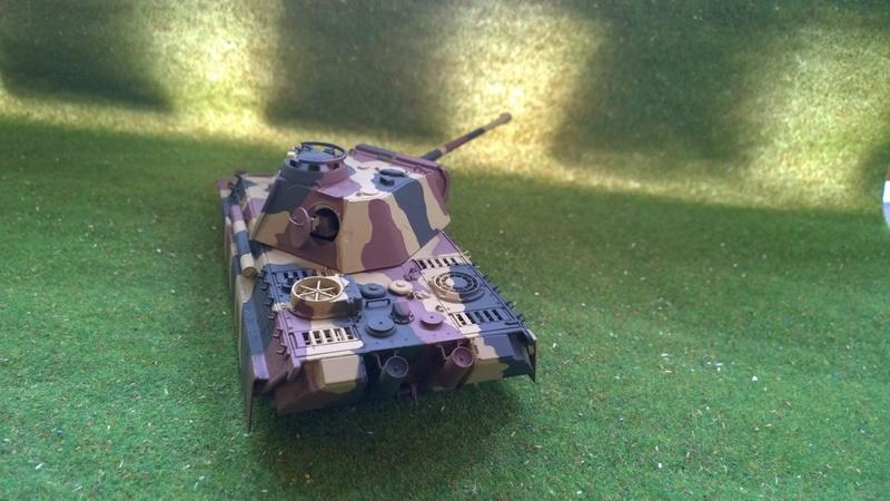 PanzerV Panther G Late Tamiya et maison ruine Mini Art 1/35e Wp_20118