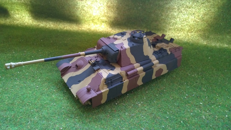 PanzerV Panther G Late Tamiya et maison ruine Mini Art 1/35e Wp_20119