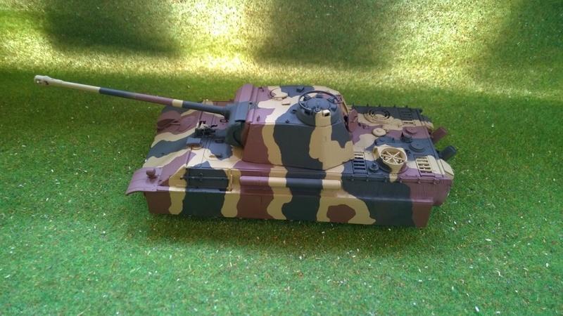PanzerV Panther G Late Tamiya et maison ruine Mini Art 1/35e Wp_20120
