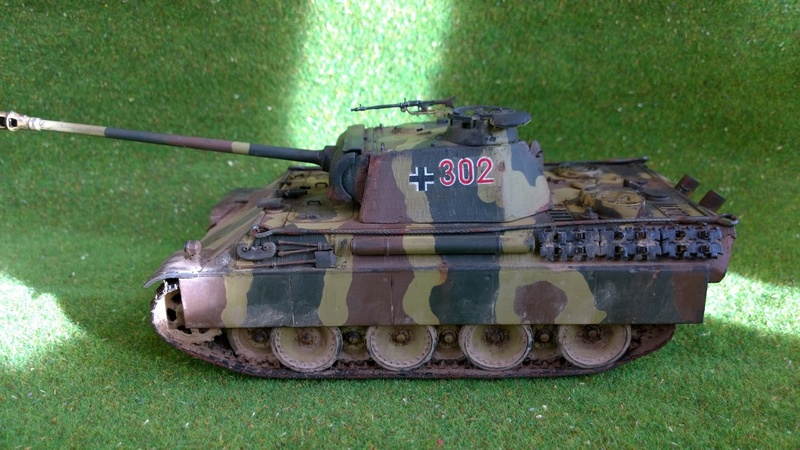 PanzerV Panther G Late Tamiya et maison ruine Mini Art 1/35e Wp_20121