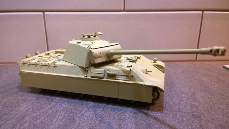 PanzerV Panther G Late Tamiya et maison ruine Mini Art 1/35e Wp_20122