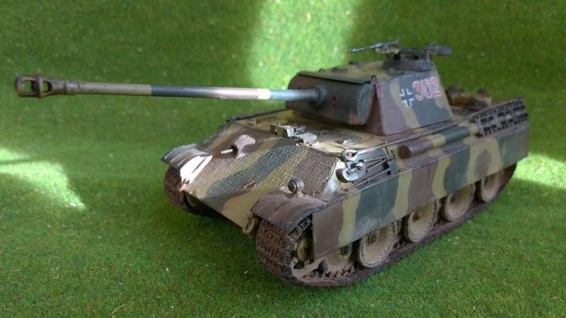 PanzerV Panther G Late Tamiya et maison ruine Mini Art 1/35e Wp_20123