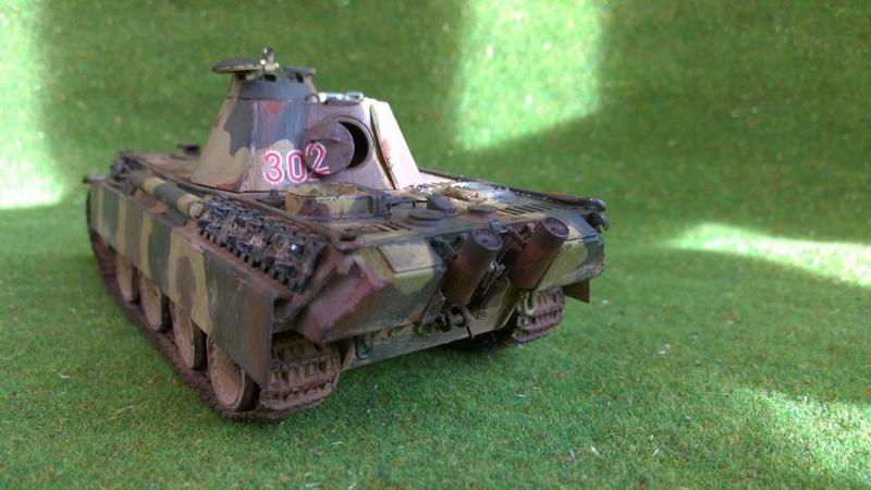 PanzerV Panther G Late Tamiya et maison ruine Mini Art 1/35e Wp_20125