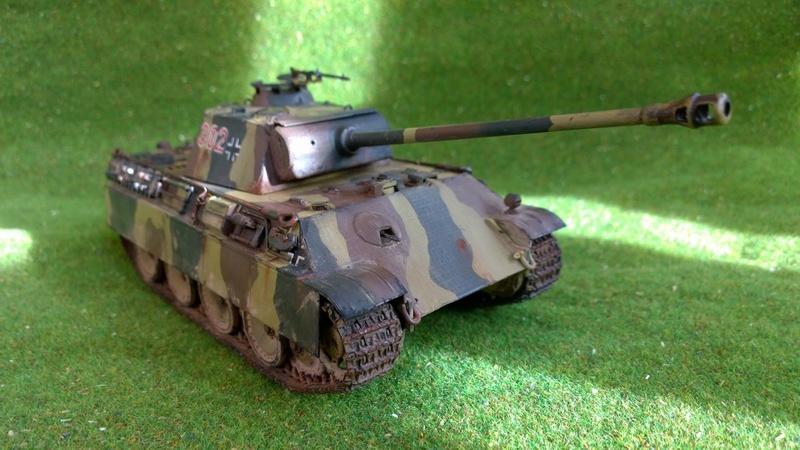 PanzerV Panther G Late Tamiya et maison ruine Mini Art 1/35e Wp_20127