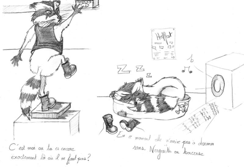 SUMMER CHALLENGE : la création d'un personnage mi homme/femme, mi animal - Page 3 Raton10