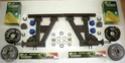 Kits essieux OFF-ROAD pour caravane ou remorque. Kgrhqq10