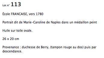 secrets d'histoire : Marie-caroline de Naples et sicile Captur99