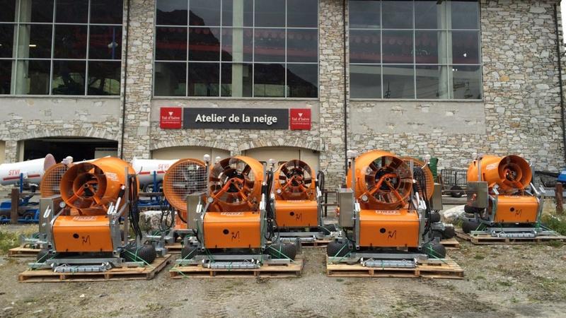 Enneigement artificiel Val d'Isère 647310