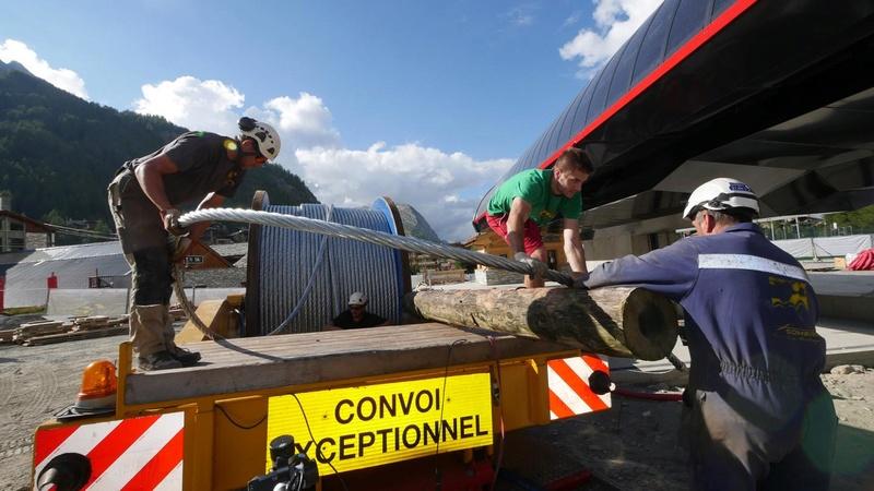Construction télécabine (TCD10) Solaise 2015-2016 - Chantier Solaise - Page 2 Cablep14